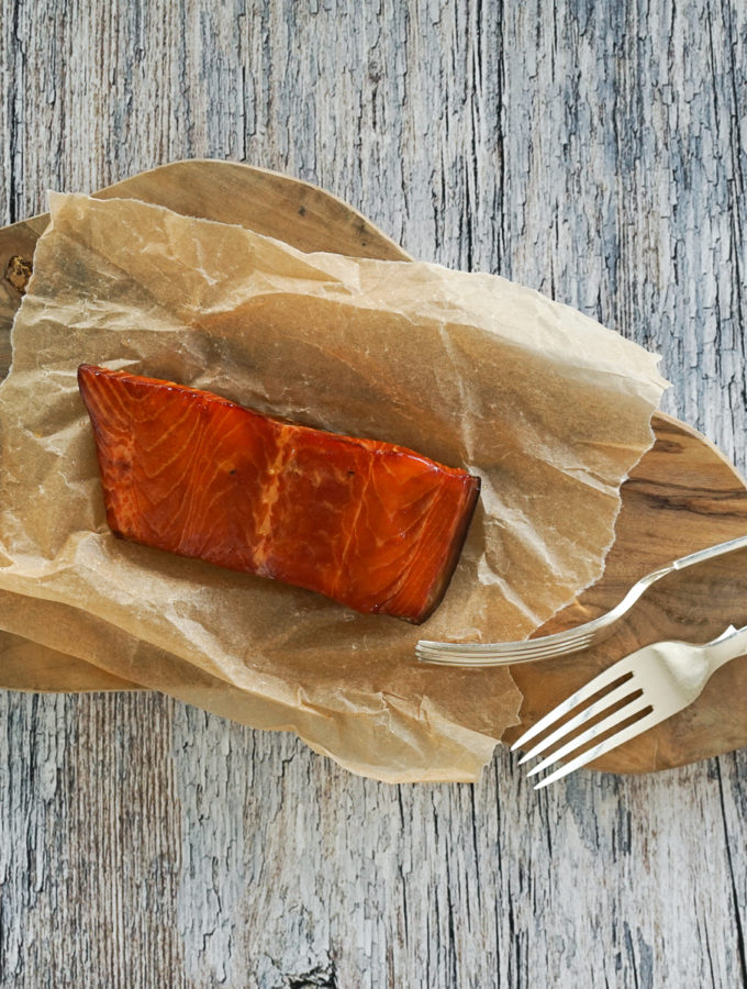 Hot Smoked Salmon