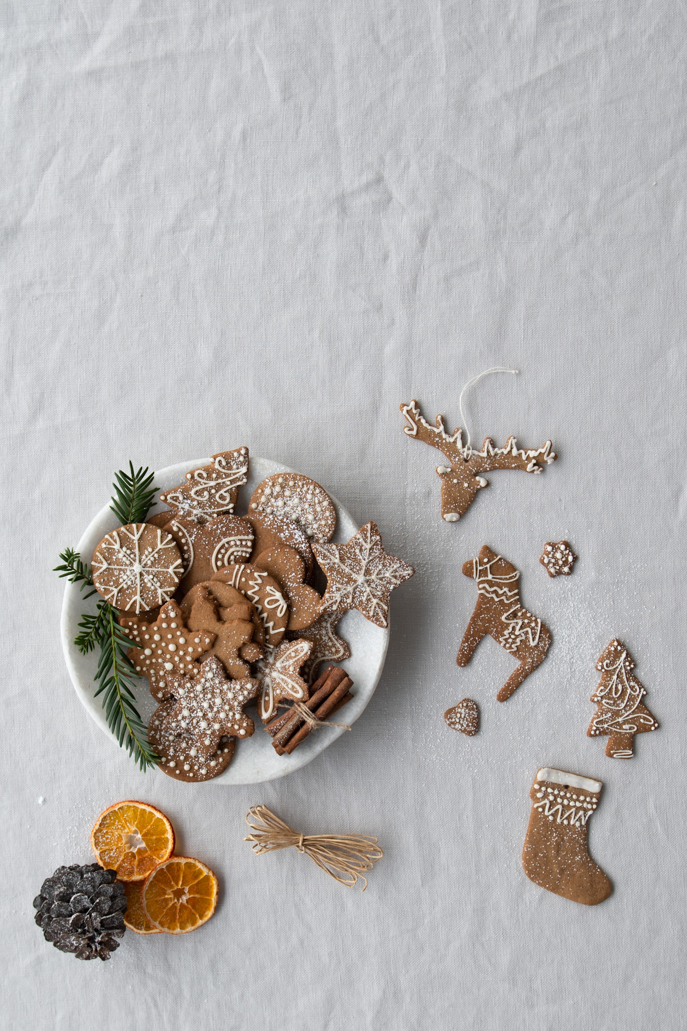 Swedish Gingersnap biscuits
