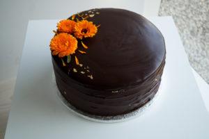 Chocolate Ganache Cake