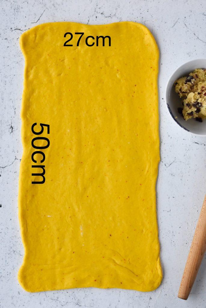 Saffron Dough
