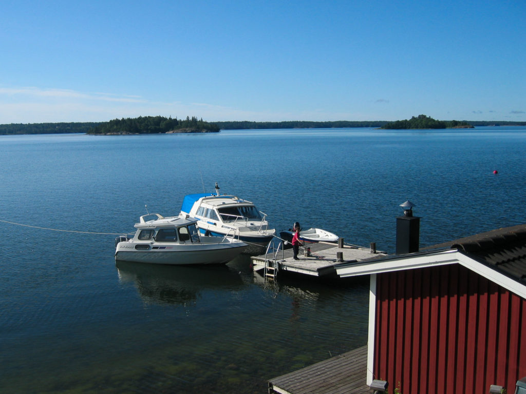 View from the Island of Gränö