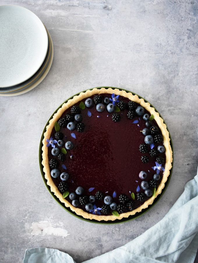 Berry & Lemon Tart
