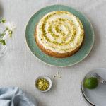 Courgette, pistachio & lime cake