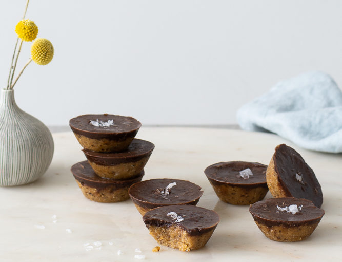 Raw Almond Butter Cups