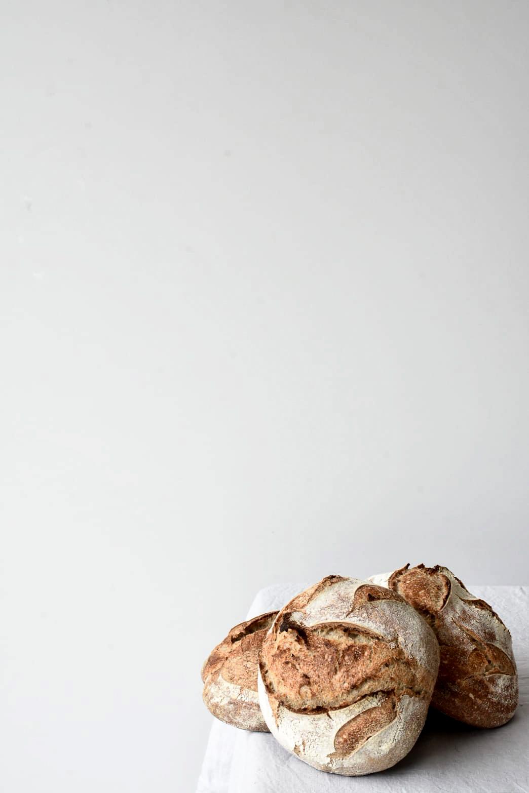 Handmade Sourdough Loaves