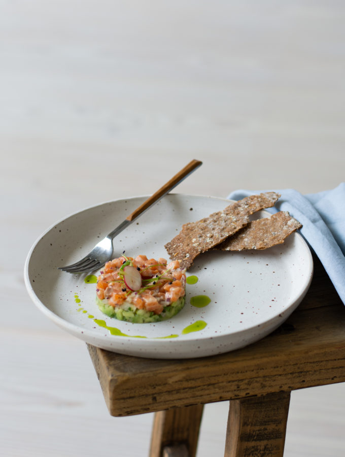Salmon, Fennel & Avocado Tartare 5