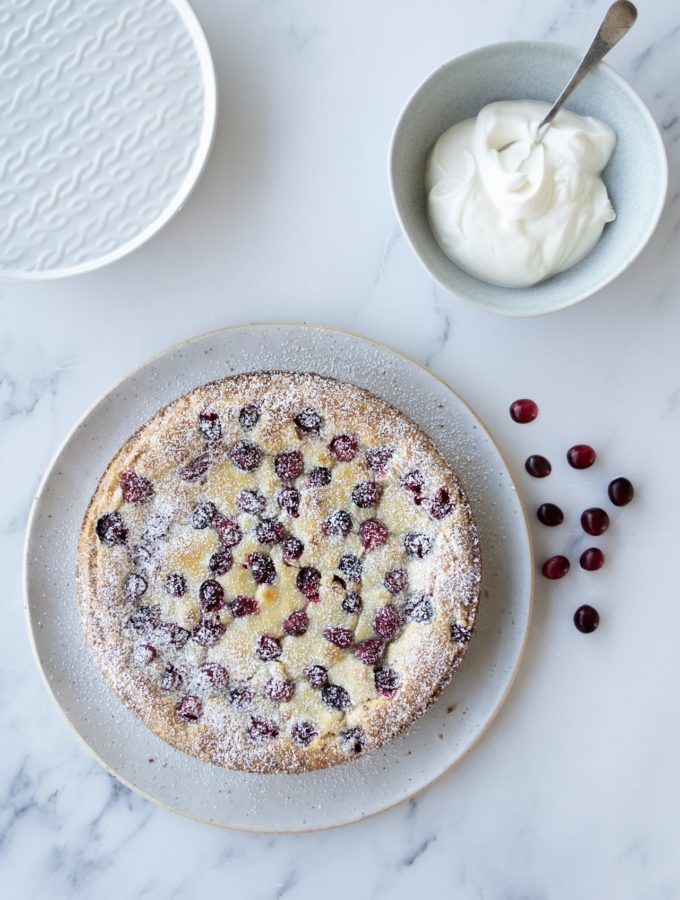 White Chocolate & Cranberry Kladdkaka