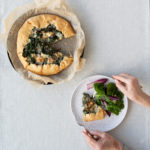 Purple Sprouting Broccoli Galette