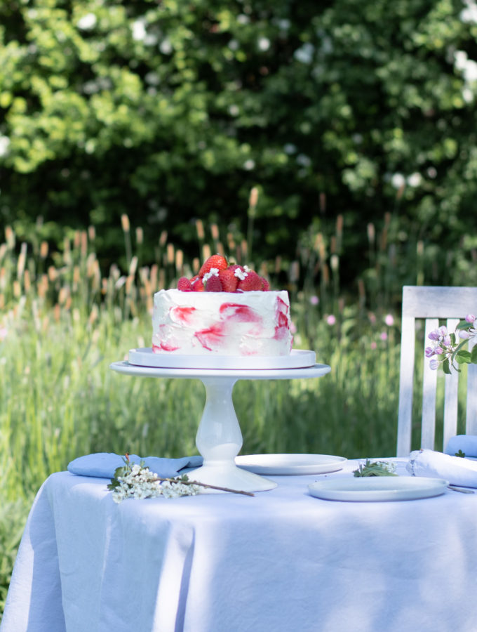Swedish Midsummer Berry Cake