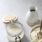 White sourdough starter