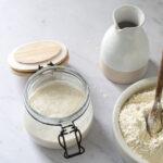 White sourdough starter