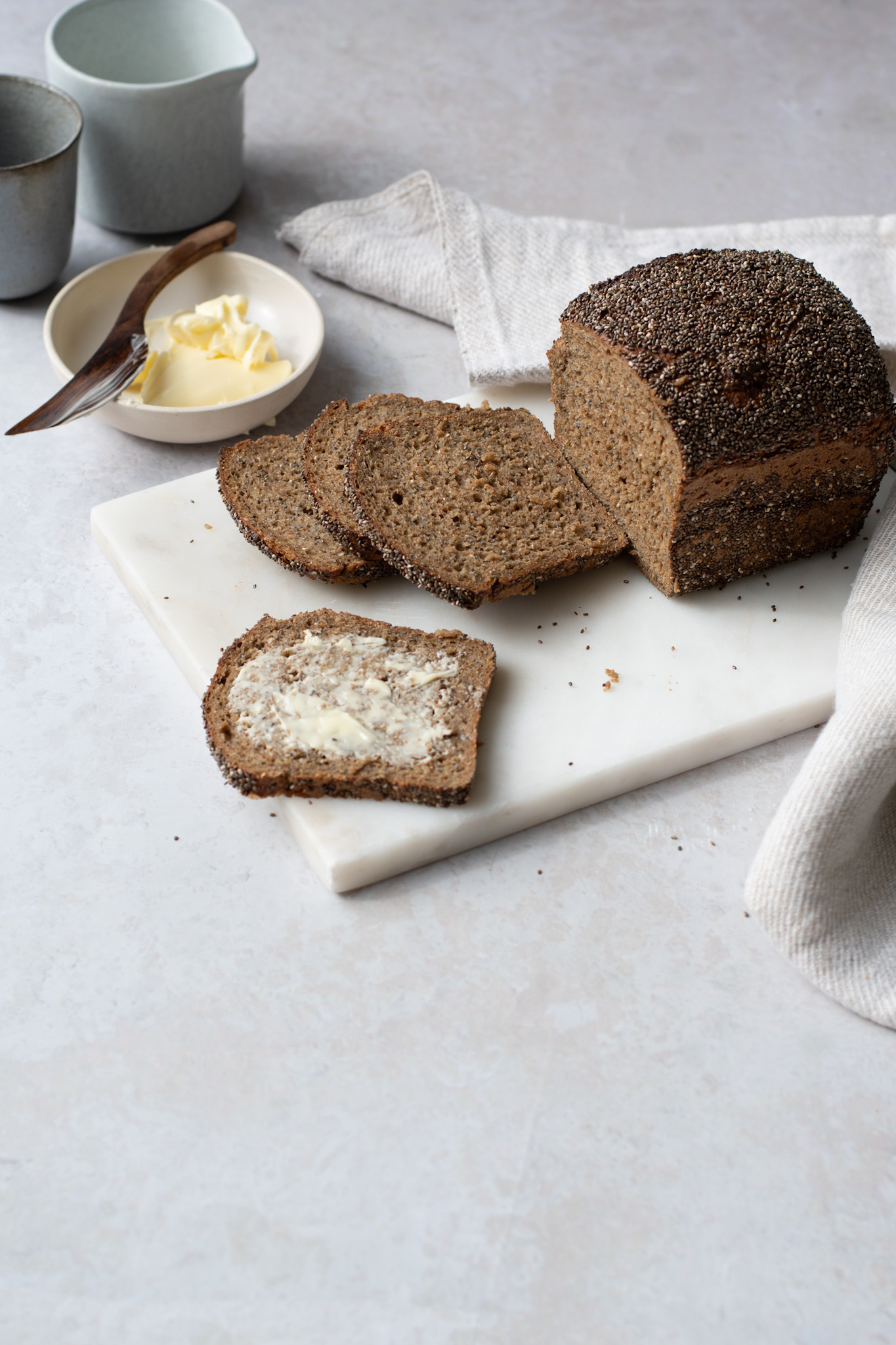 Chia seed Wholegrain Sourdough loaf