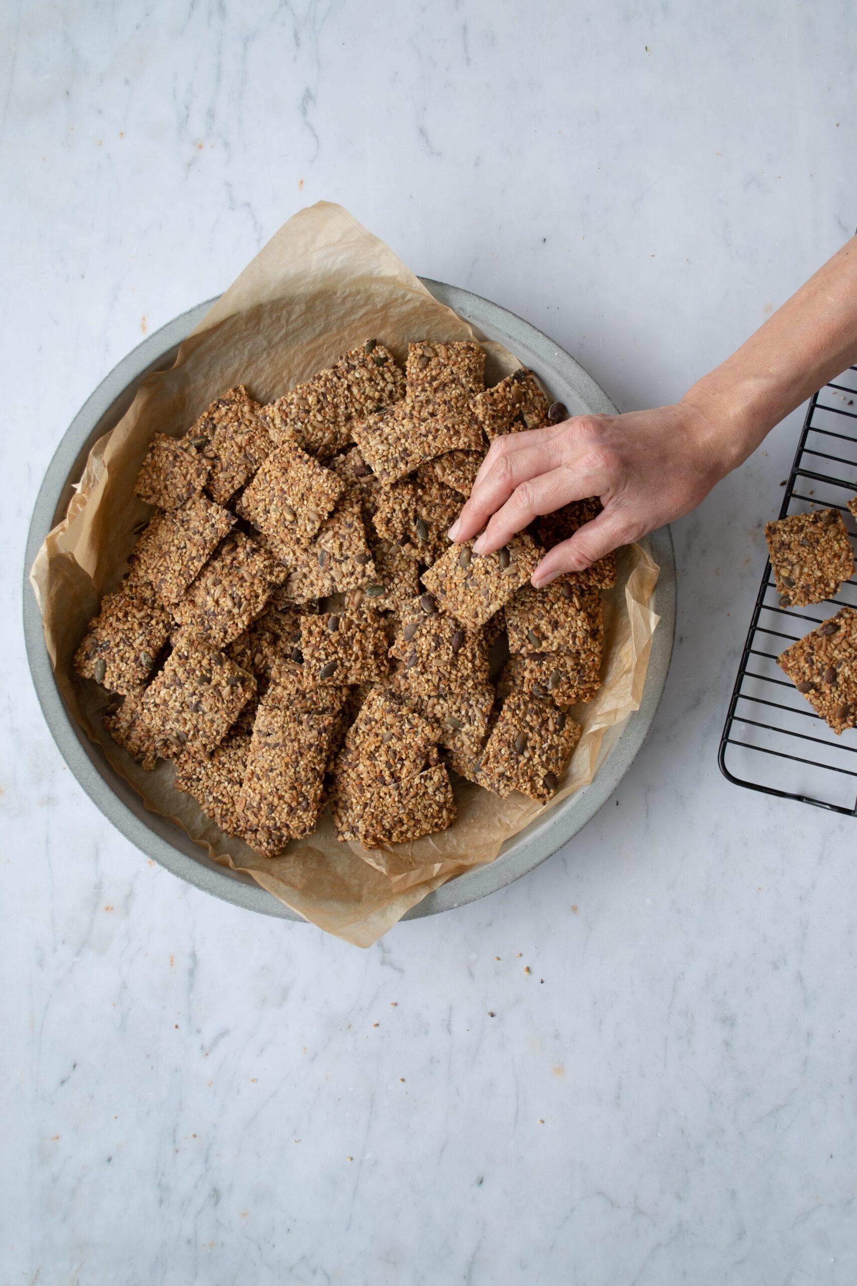 Gluten-free Seeded Crispbread