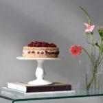 Hazelnut & Raspberry Meringue Torte