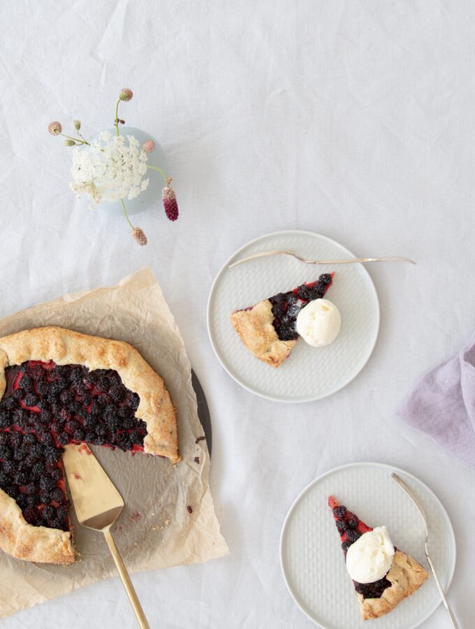Blackberry & Apple Galette
