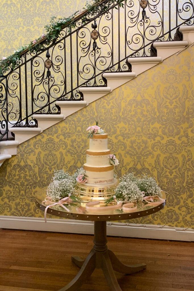 Holly & Hannah's Wedding Cake