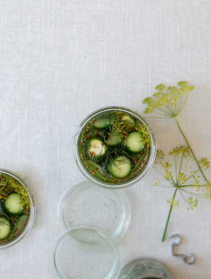Swedish Pickled Gherkins(Västeråsgurkor)