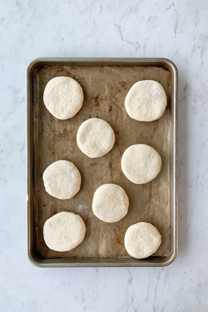 vanilla bun dough