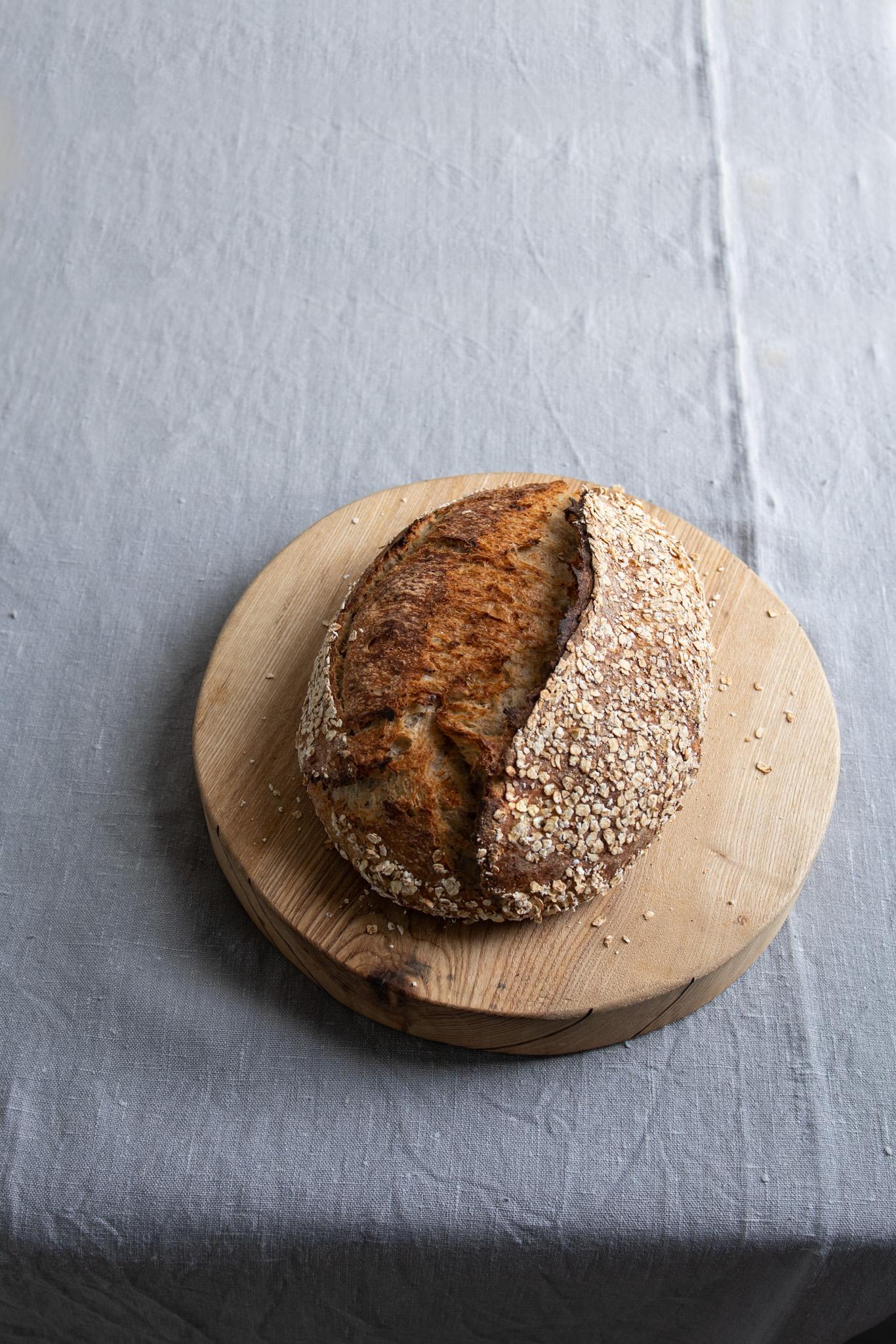 Honey & Oat Sourdough Loaf