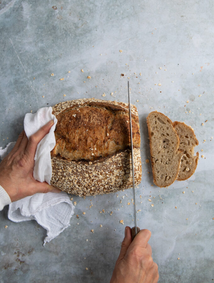 Honey & Oat Sourdough Loaf