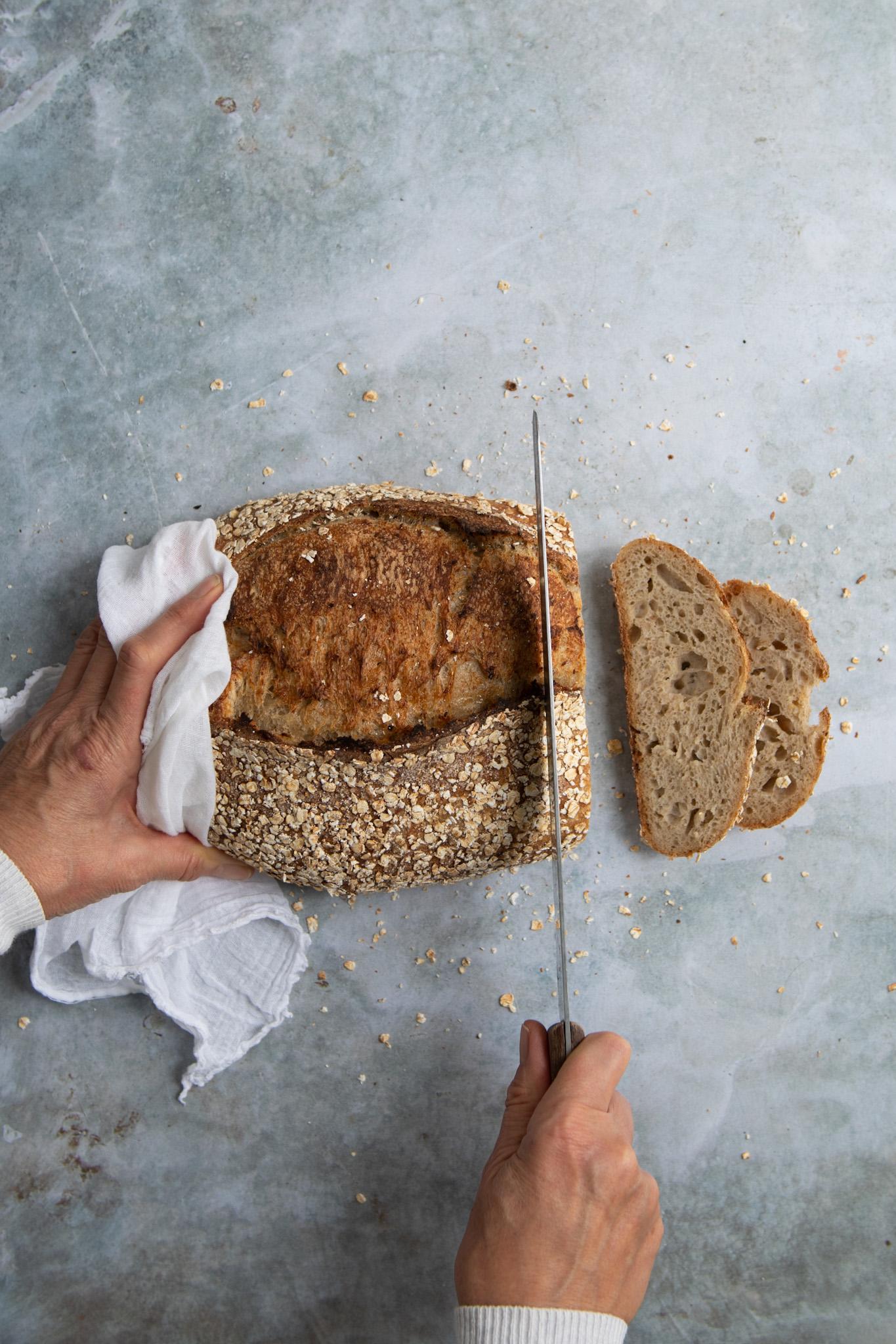 Honeyed Oat Sourdough