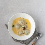 Laminated Wild Mushroom Ravioli
