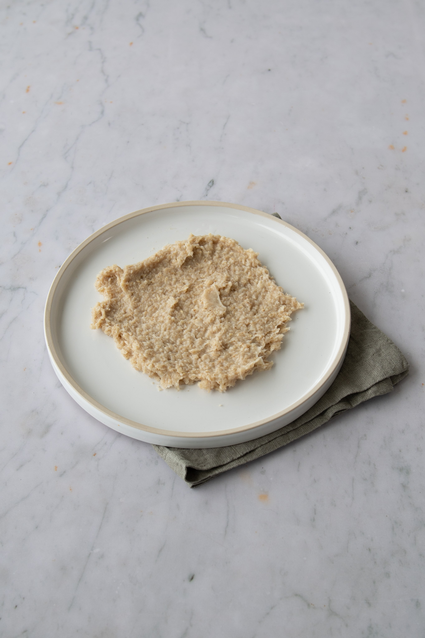 Oats cooked with honey