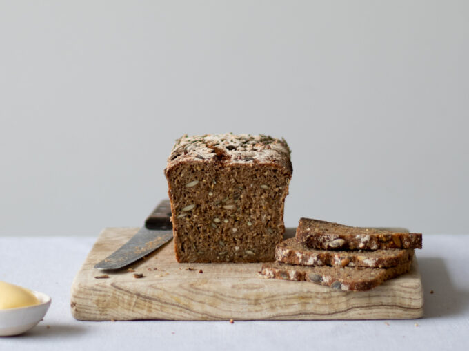 Danish Sourdough Rye Bread (Rugbrød)