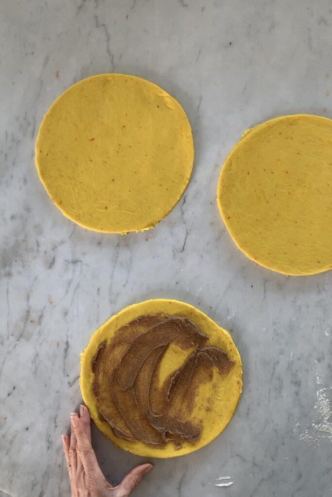 Saffron Bread star