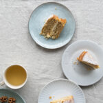 Parsnip, & Ginger Cake with Lemon Cream Cheese Frosting
