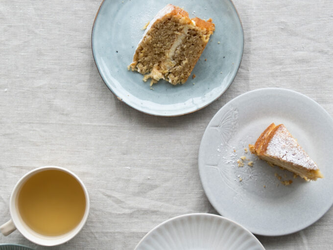 Parsnip & Ginger Cake with Lemon Cream Cheese Frosting