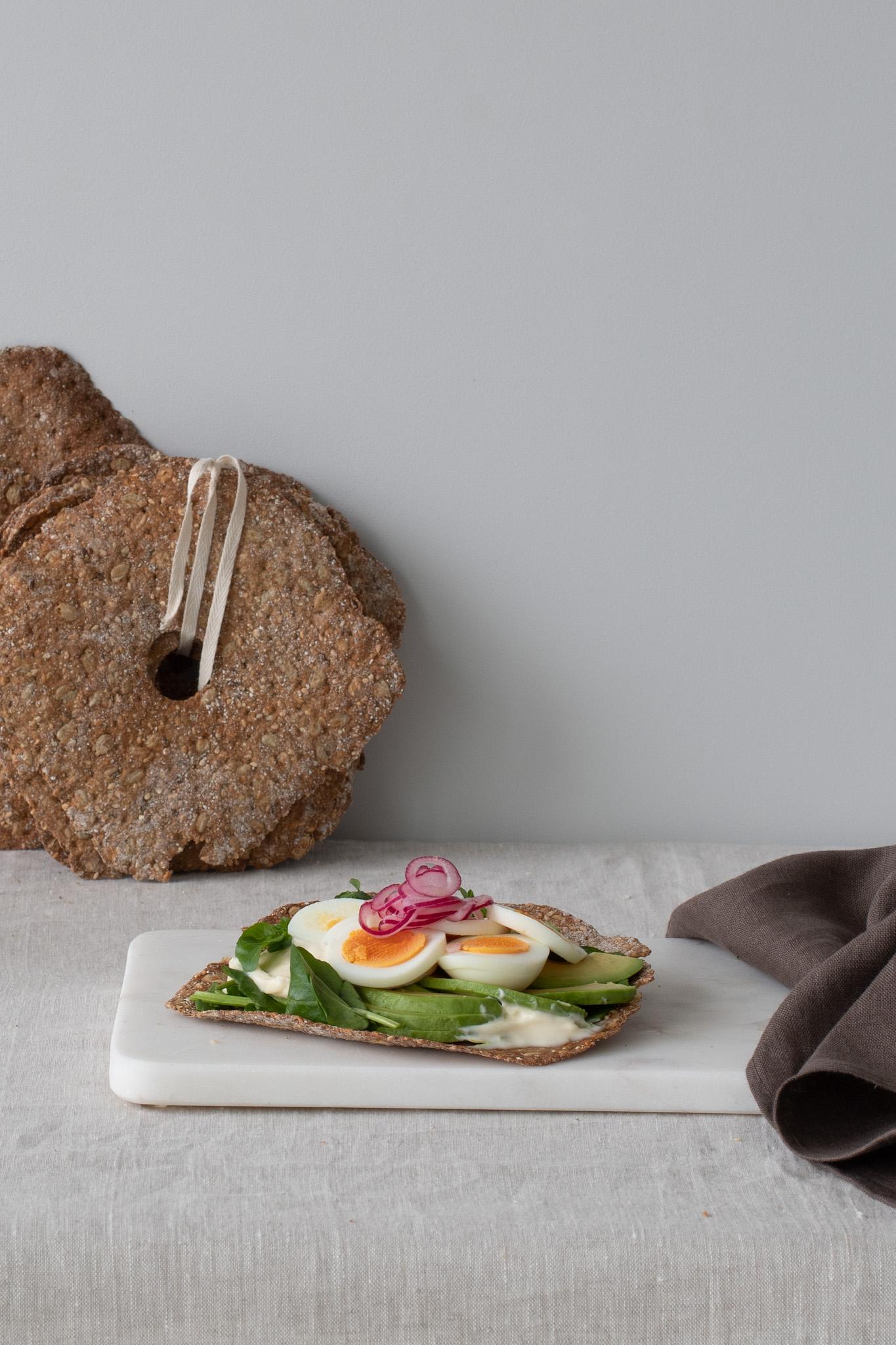 Seeded Sourdough Knäcke- sandwich