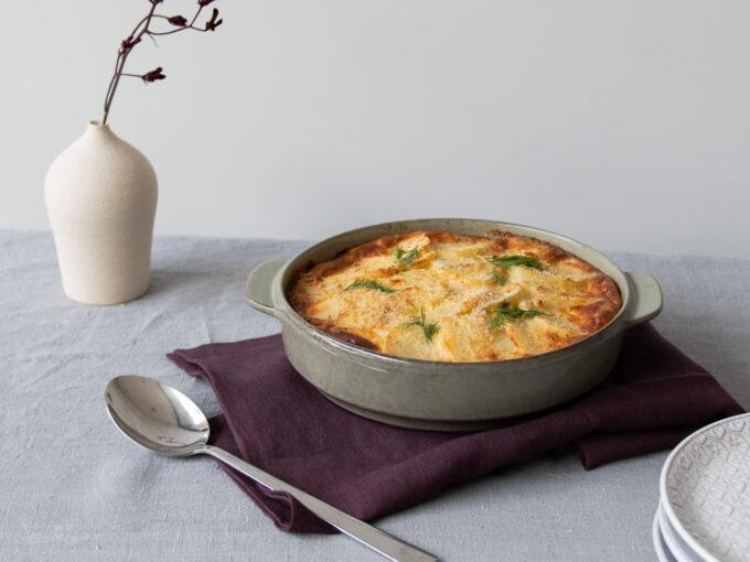 Speedy Laxpudding (Swedish Salmon Pudding)