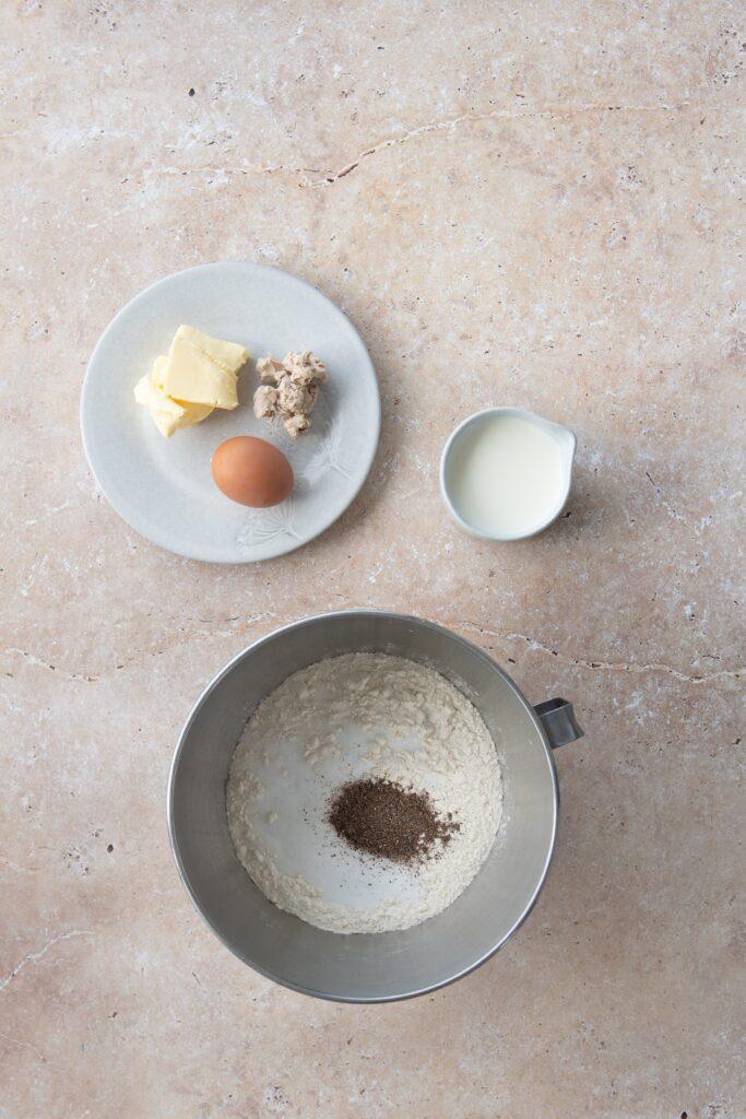 Semlor dough ingredients