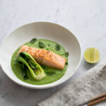 Seared Sea Trout with Lemongrass Veloute