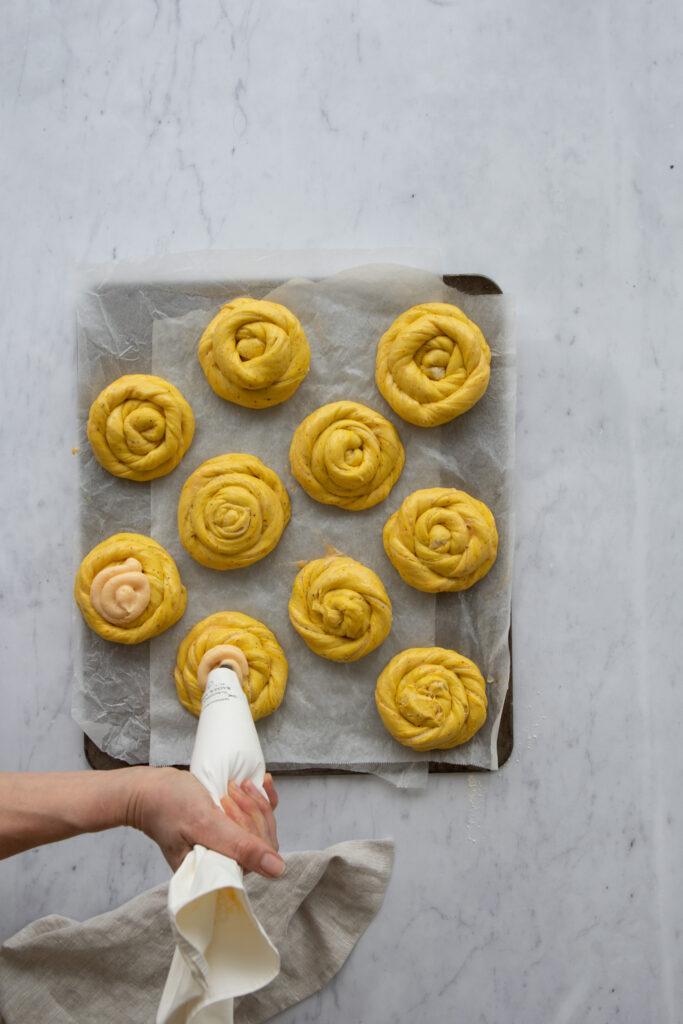 Swedish Saffron & Vanilla Buns