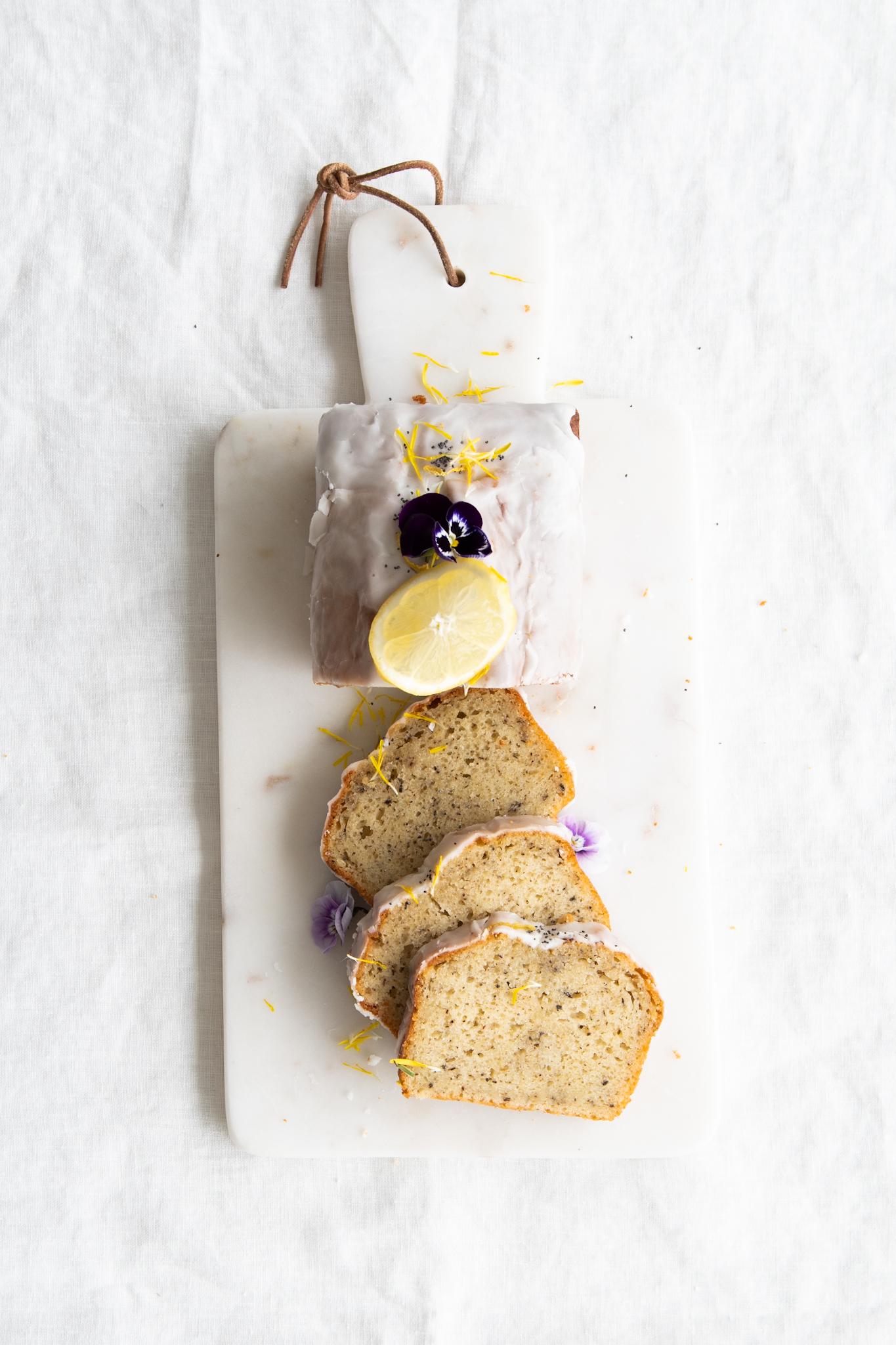 Earl Grey, Yogurt & Lemon Loaf