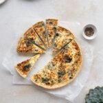 Wild Garlic and Nettle Tart