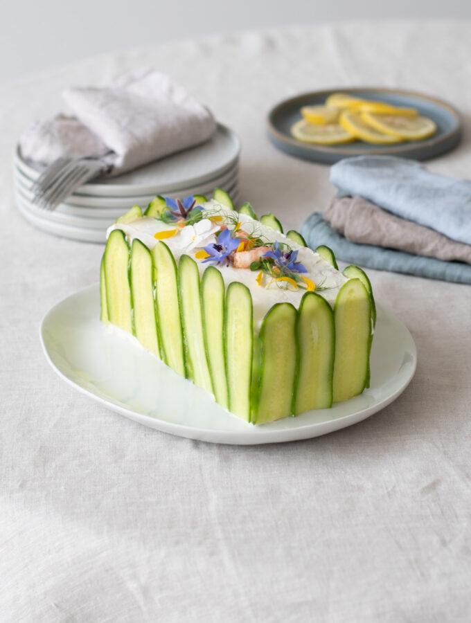 Smörgåstårta (Swedish Sandwich Cake)