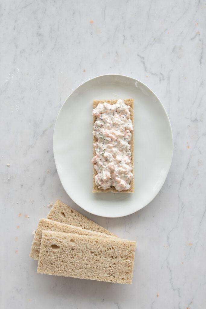 Smörgåstårta(Swedish sandwich cake)