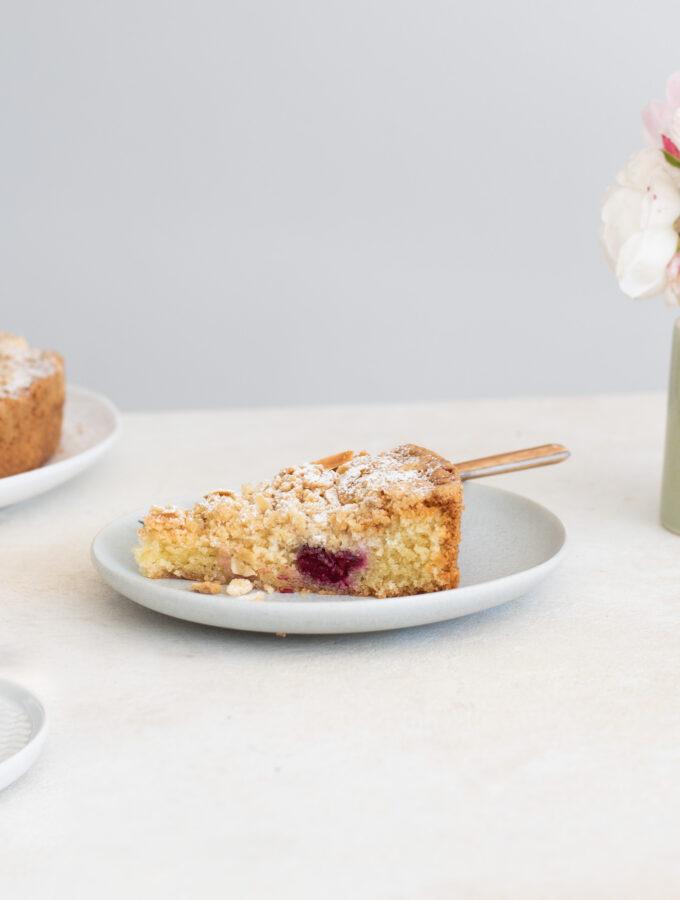 Gooseberry & Almond Streusel Torte