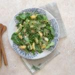 New Potato Salad with Fresh Peas