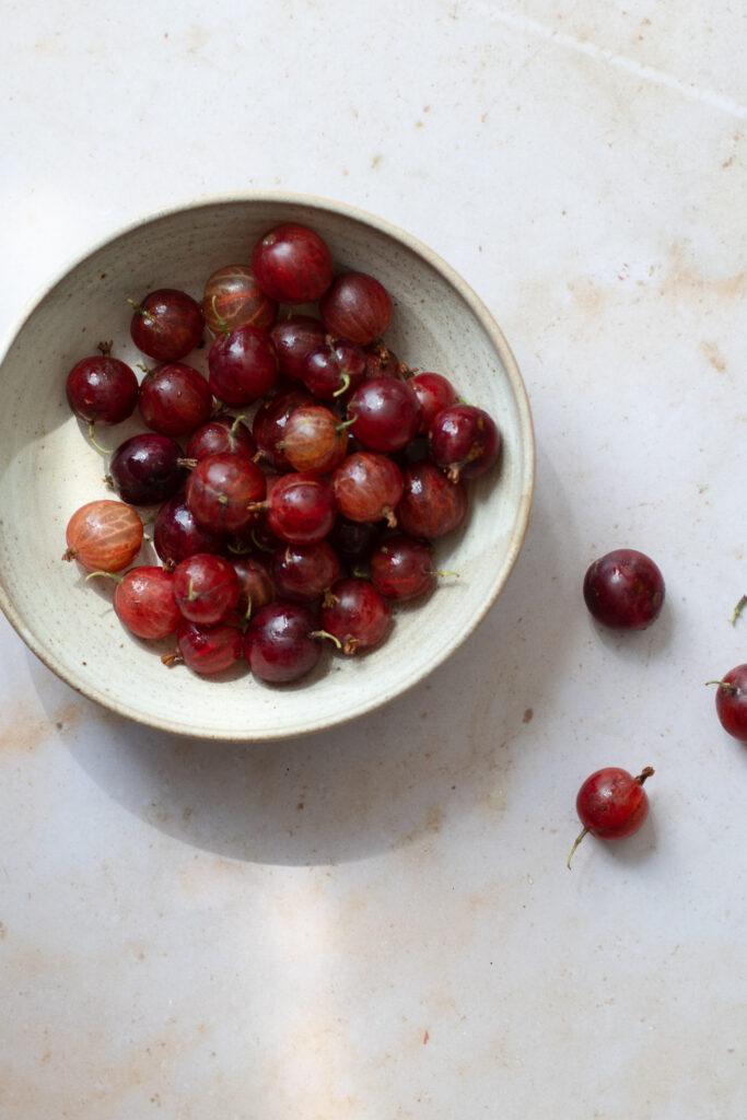 Red Gooseberries