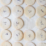 Lavender and Lemon Shortbread Biscuits