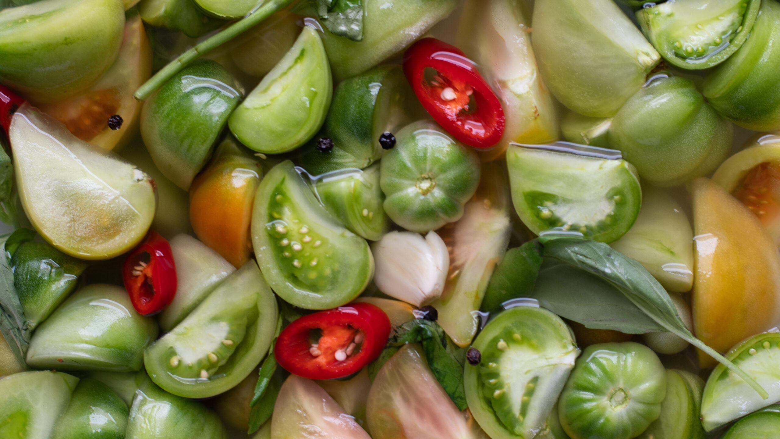 Tomatoes in Brine
