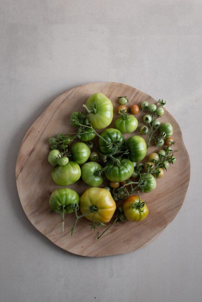garden glut geen tomatoes