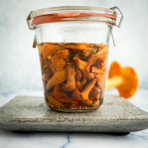 Pickled Chanterelles