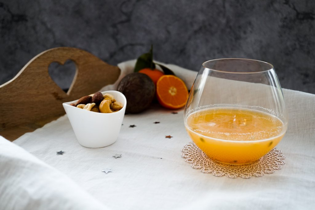 Christmas citrus fizz