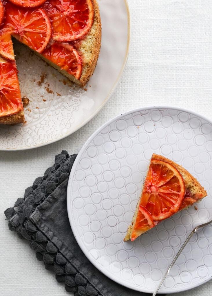 Blood Orange & Almond Cake
