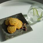 Parmesan & Pistachio Sable